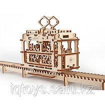 3D-конструктор Трамвай с рельсами