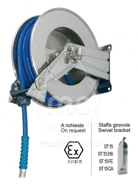 Барабан стальной окрашенный с инерционным механизмом AV 1000 FE