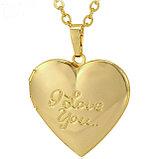 Кулон-медальон на цепочке ''I love you'', фото 8