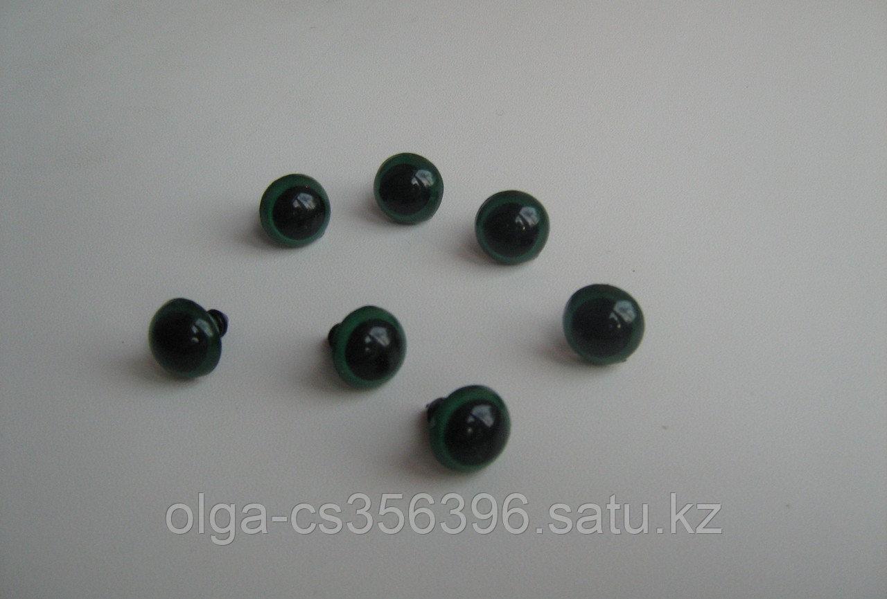 Глазки. 15  мм. Зеленые. Creativ 761 - 1