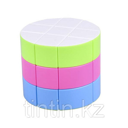 Цилиндр Рубика (цветной пластик), фото 2