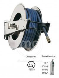 Барабан для шланга AV 1500 с инерционным механизмом (легкая пружина возврата)
