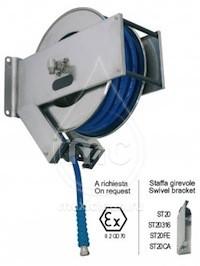 Барабан для шланга AV 2200 с инерционным механизмом (нерж. сталь)