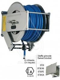 Барабан для шланга AV 3000 с инерционным механизмом (нерж. сталь)