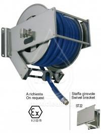 Барабан для шланга AV 2300 с инерционным механизмом (нерж. сталь)