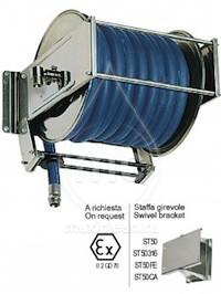 Барабан для шланга AV 5000 с инерционным механизмом (нерж. сталь)