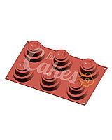 Силиконовая форма для муссовых изделий и выпечки « FLU», Италия MINI WONDER CAKES