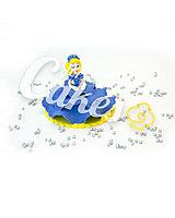 Сахарная фигурка из мастики «Принцесса в голубом платье», Казахстан