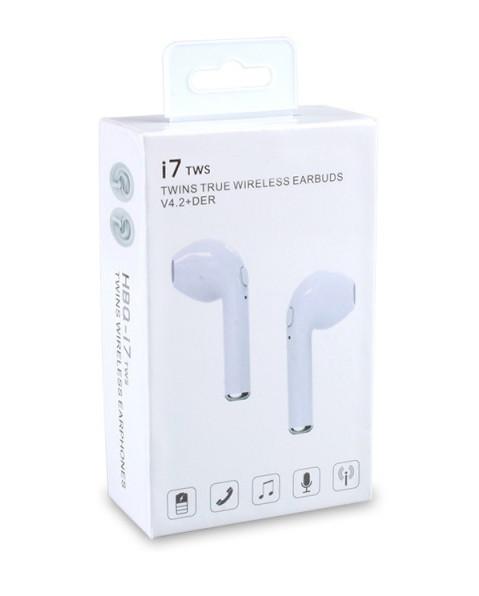 Беспроводные Bluetooth Наушники i7 TWS v4.2+DER