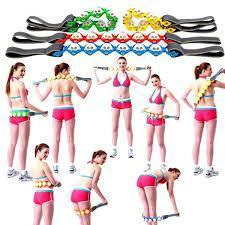 Ручной массажер-лента роликовый Massage Rope, фото 2