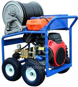 Каналопромывочный аппарат MC 160/38 BENZ (160 bar) электростартер