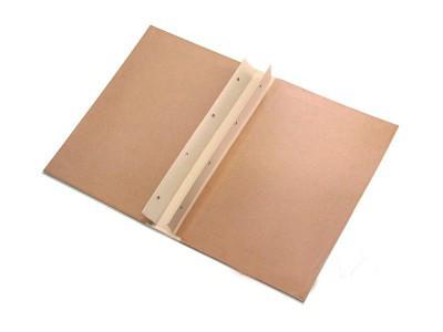 Архивная папка 230*320мм с гребнями