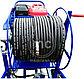 Каналопромывочный аппарат MC 350/25 BENZ (350 bar) электростартер, фото 3