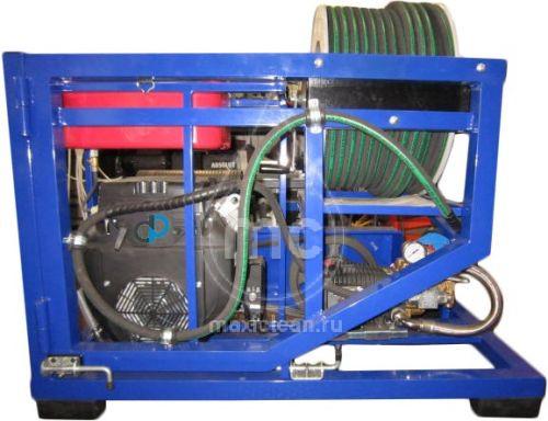 Гидродинамическая машина для прочистки труб MC 190/50 BENZ (190 bar) электростартер