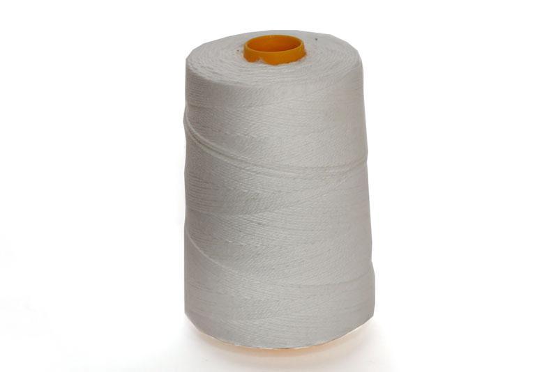 Нить для подшивки документов лавсано-штапельная ЛШ-460 (катушка 500 м.), цвет белый, толщина 1,3 мм