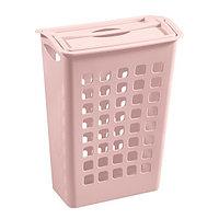 Корзина для белья узкая пластиковая, Бытпласт 4312554