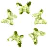Декоративные бусины Бабочки лимонные 2,3x1,8см 20шт
