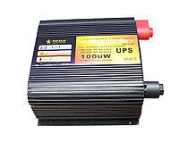 Преобразователь напряжения с функцией заряда аккумулятора, UPS и LED дисплеем 12 220, 1,0kVA, фото 1