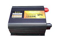 Преобразователь напряжения с функцией заряда аккумулятора, UPS и LED дисплеем, 12 220, 1,5kVA, фото 1