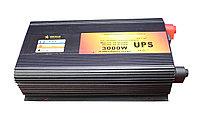 Преобразователь напряжения с функцией заряда аккумулятора, UPS и LED дисплеем, 12 220, 3kVA, фото 1