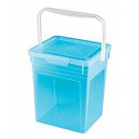 Ведро для стирального порошка 8 л пластиковое, Бытпласт 4312241