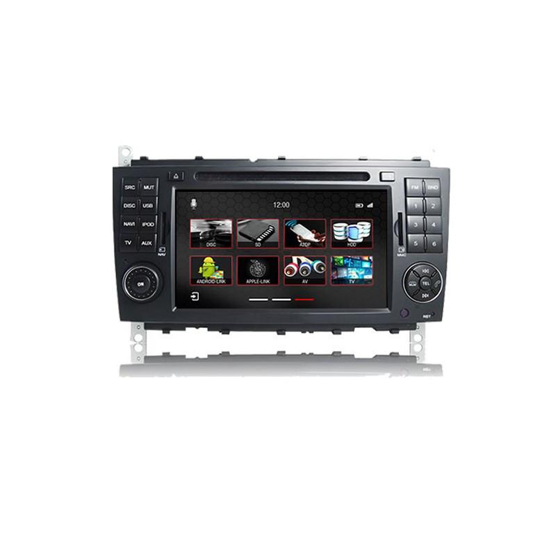 Штатное головное устройство Mercedes-benz C-класс W203 2004-2007 «Dynavin»