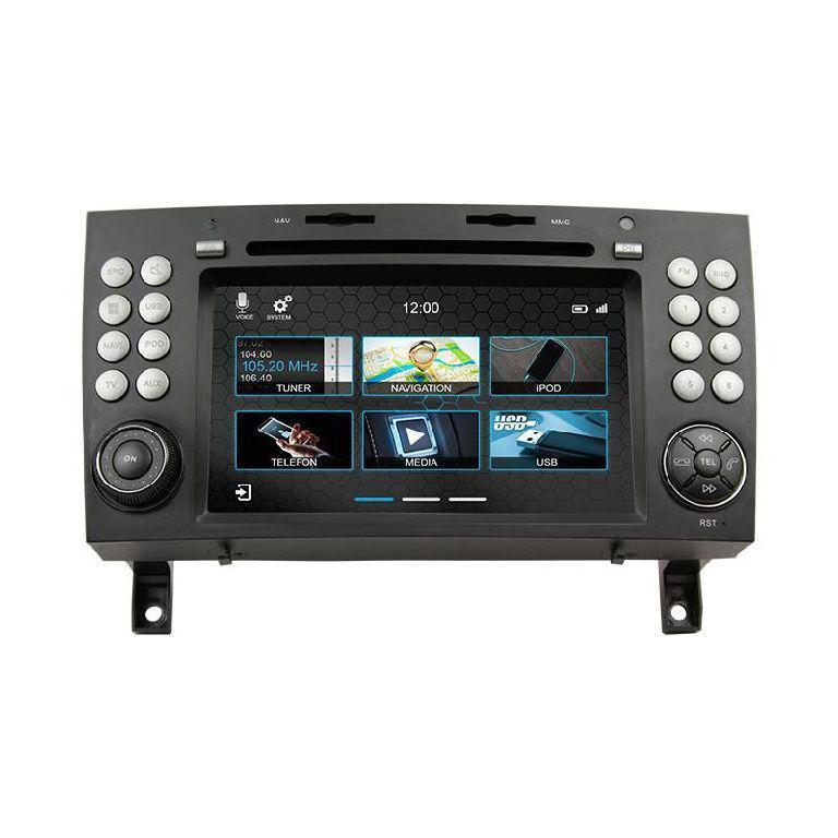 Штатное головное устройство Mercedes-benz SLK R171 2004-2010 «Dynavin»
