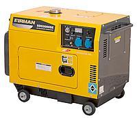 Дизельный генератор, 4,2 кВт, Firman SDG5000SE