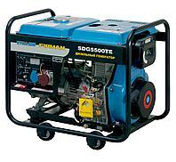 Дизельный генератор, 5 кВт, Firman SDG5500TE