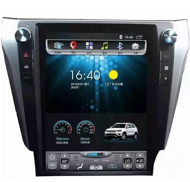 Магнитола Element 5 тесла монитор для Toyota Camry V50, 55
