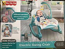Шезлонг кресло качалка Electric Swing Chair