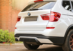 Диффузор заднего бампера на BMW X3 (F25) 2014-