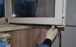 Замена уплотнительной резины окон и дверей