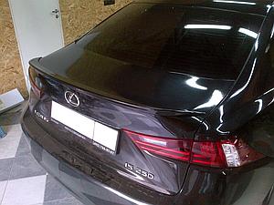 Спойлер Lexus IS 2015-