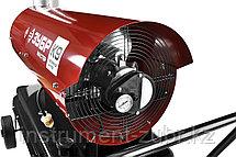 Пушка дизельная тепловая, ЗУБР ДПН-К9-21000-Д, 220 В, 21 кВт, 1000 м.куб/час, 55.5 л, 1.7 кг/ч, дисплей, подкл. внешн термост, датчик уровня топлива, фото 3