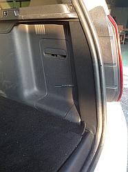 Боковины в багажник шагрень Renault Duster 2010-