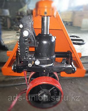 Тележка гидравлическая (рохля) 2500 кг, фото 2