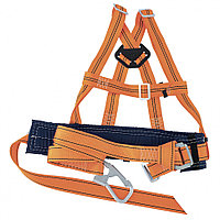 Удерживающая система УС 2АД Сибртех.Пояс лямочный,лямки наплечные,строп-текстильная лента