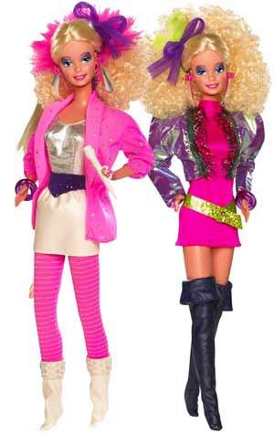 "Barbie Коллекционная кукла Барби ""Рок энд Ролл"" Винтажная Мода 1986 год"