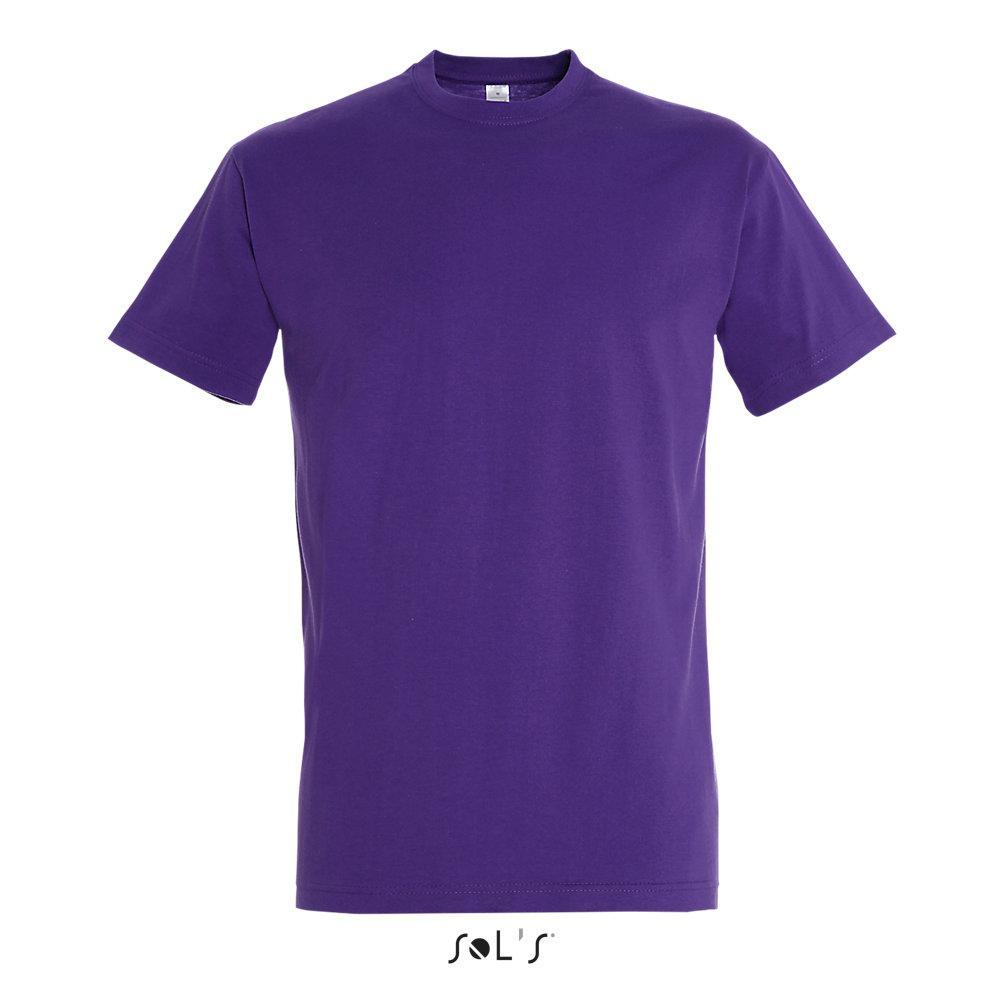 Футболка Sols Imperial XL, фиолетовая