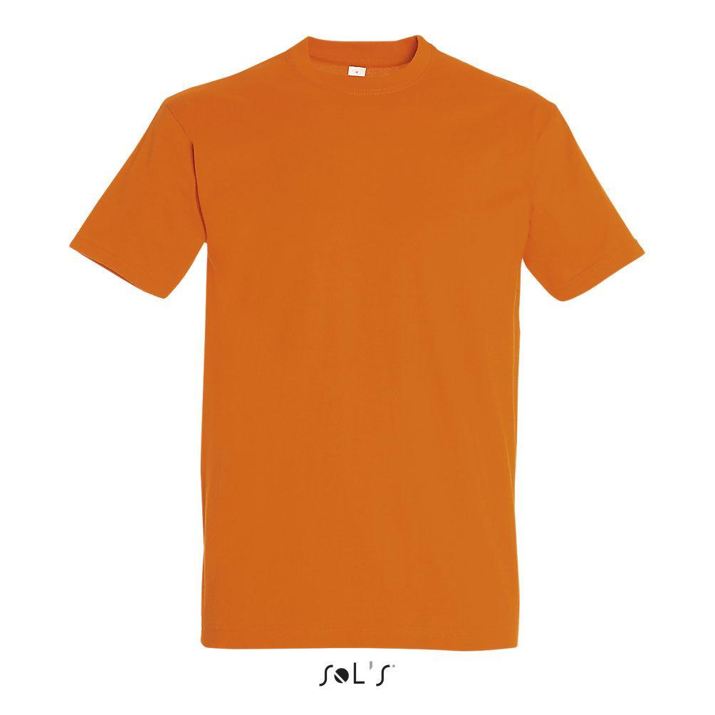 Футболка Sols Imperial M, оранжевая