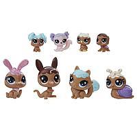 Hasbro Littlest Pet Shop Литлс Пет Шоп Набор игрушек 8 Зефирных Петов, фото 1