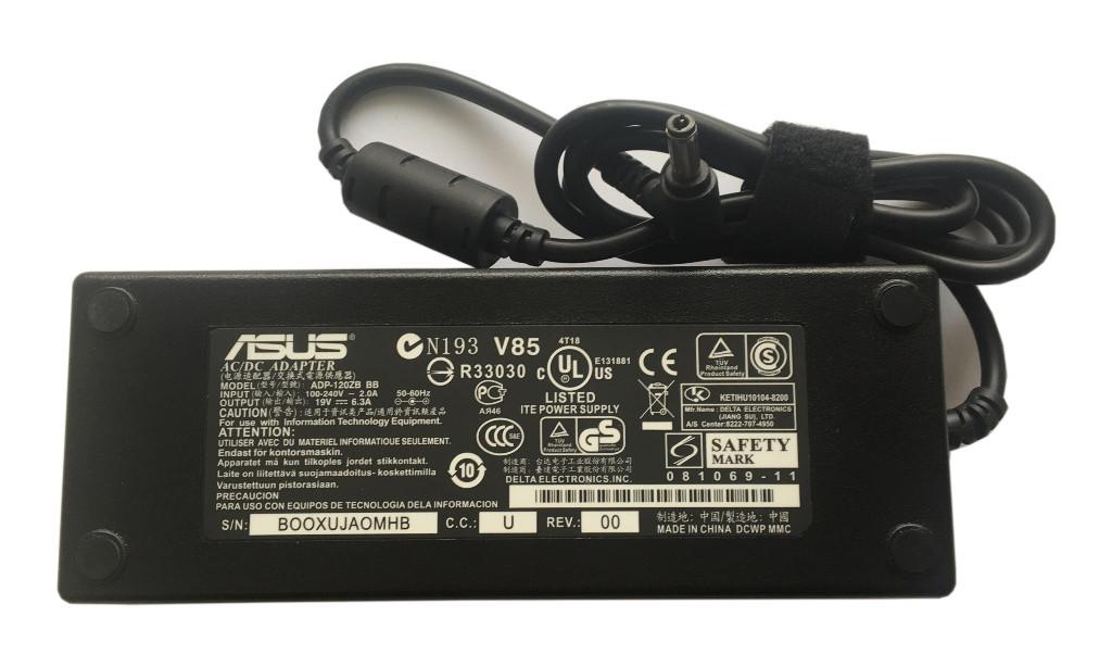 Блок питания для ноутбука Asus, 19V 6.3A, 120W, 5.5x2.5 mm