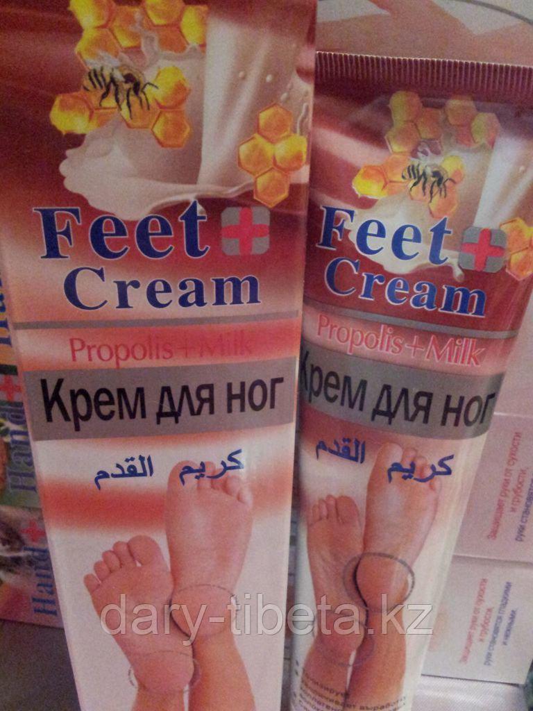 Крем для ног  -Прополис и Молоко