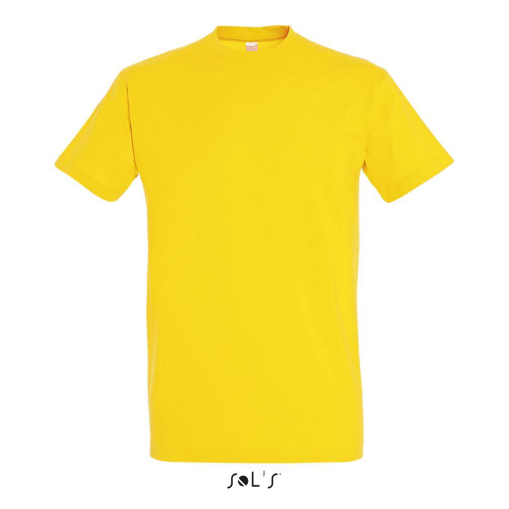 Футболка Sols Imperial L, желтая