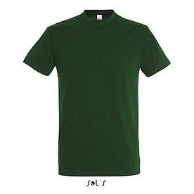 Футболка Sols Imperial XXL, темно-зеленая