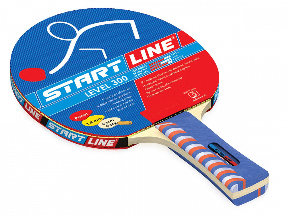Ракетка для тенниса Start Line Level 300 - для освоения различных стилей игры