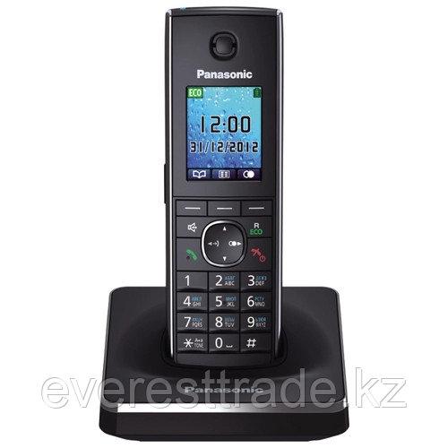 Телефон беспроводной Panasonic KX-TG8551 CAB Black-silver