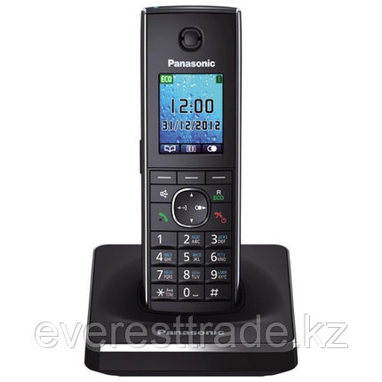 Телефон беспроводной Panasonic KX-TG8551 CAB Black-silver, фото 2
