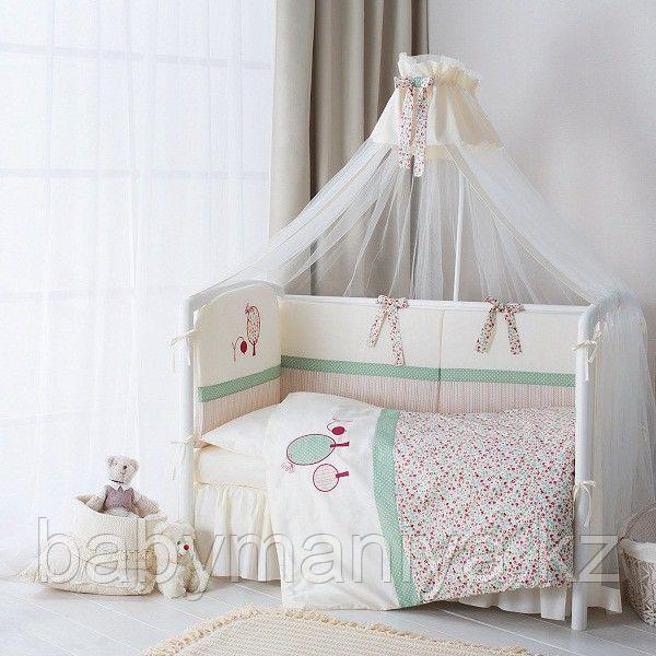 """Комплект постельного белья в кроватку """"Клюковка"""" 3 предмета"""